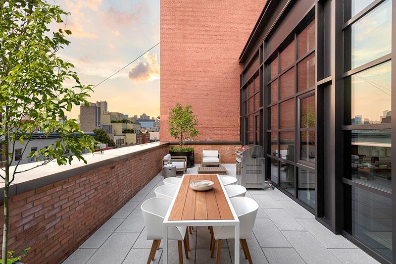 terrace interior