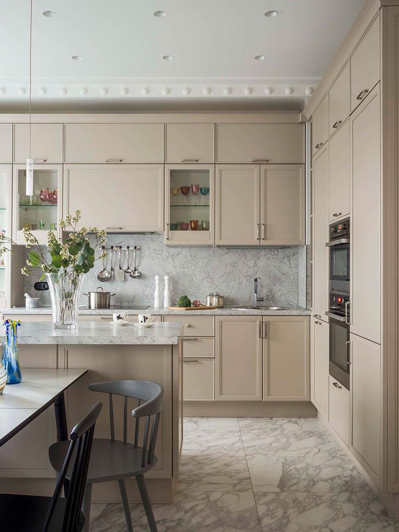 pastel colors in design of apartment