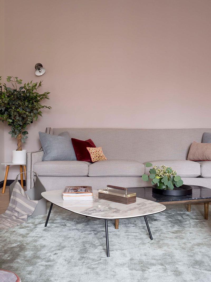 apartment apartament in pastel colors photo