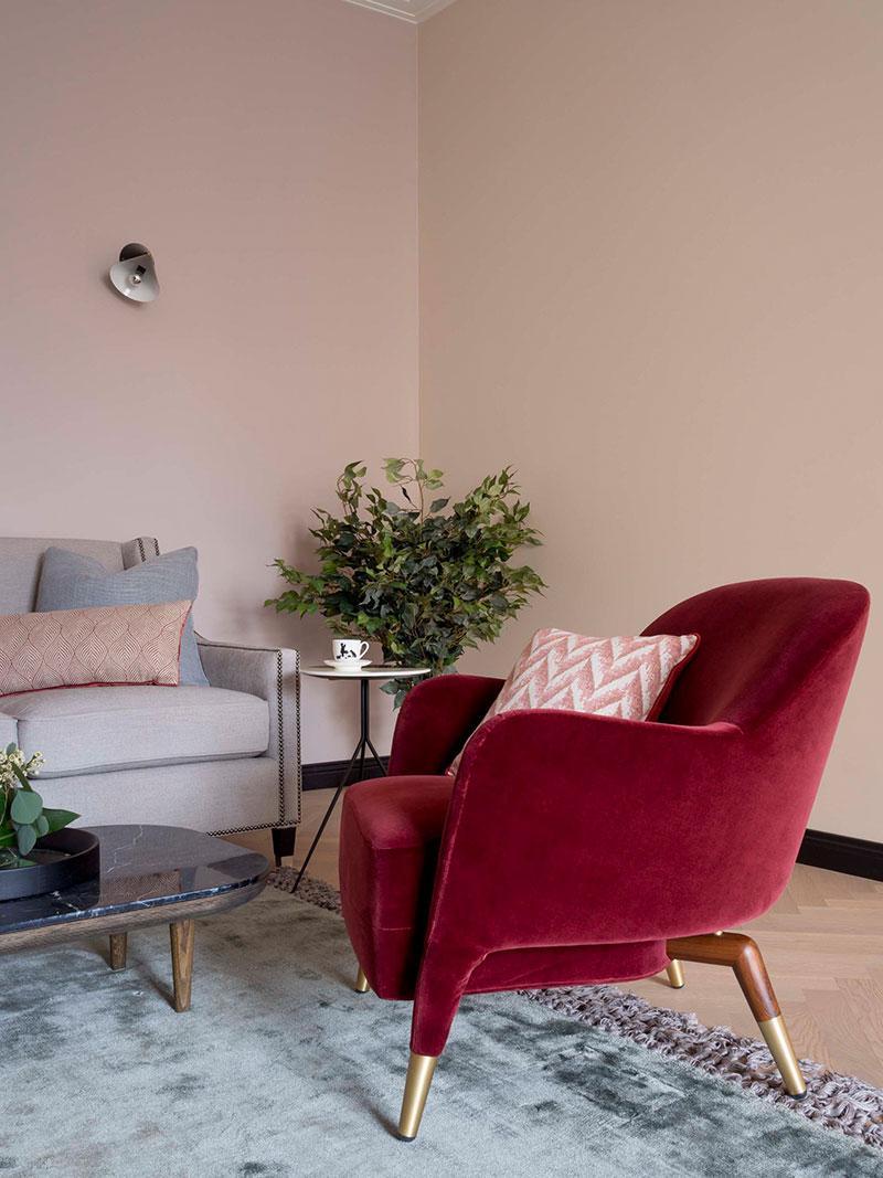 pastel colors in apartment design