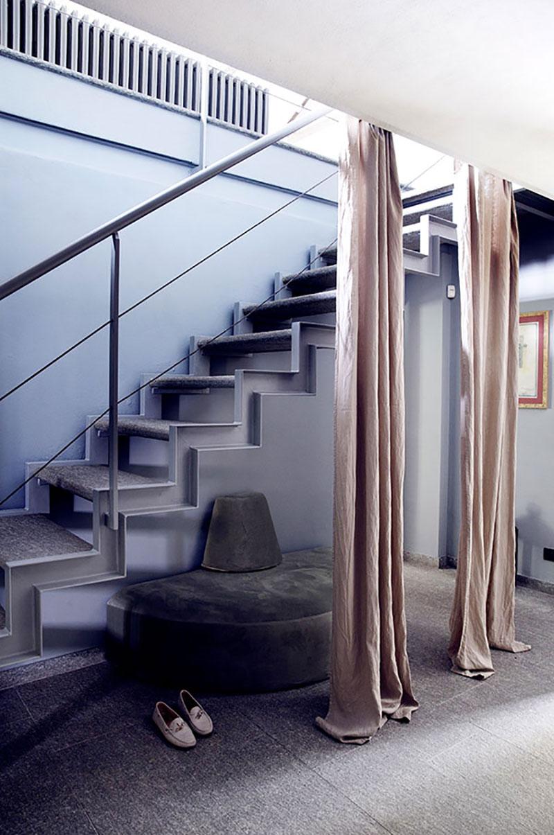 интерьеры загородного дома в скандинавском стиле