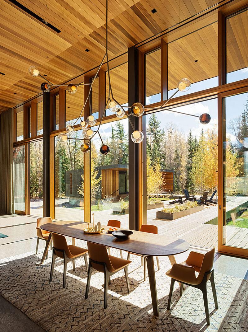 дома современные из дерева фото