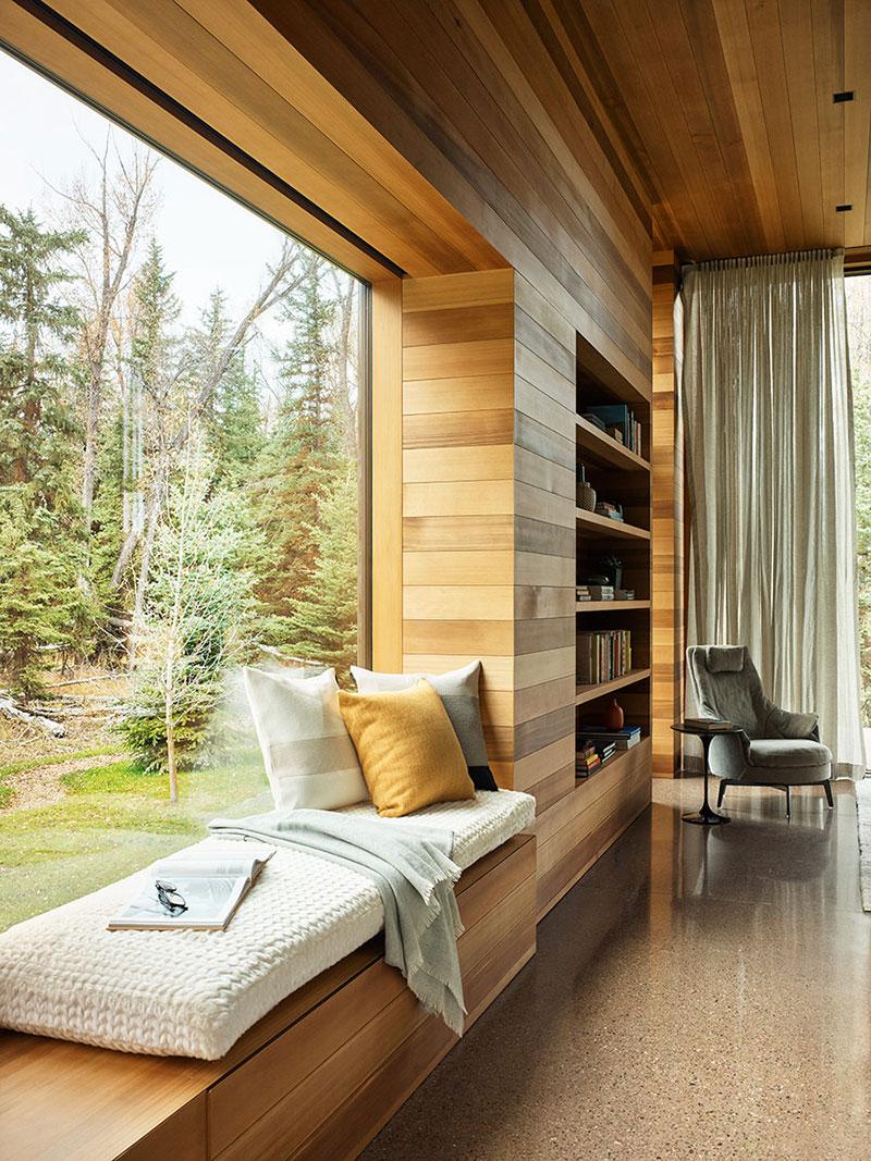 дом современный из дерева