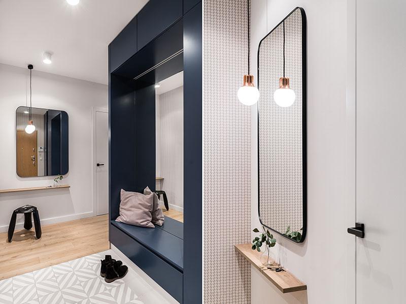 дизайн интерьера квартиры 68 кв м