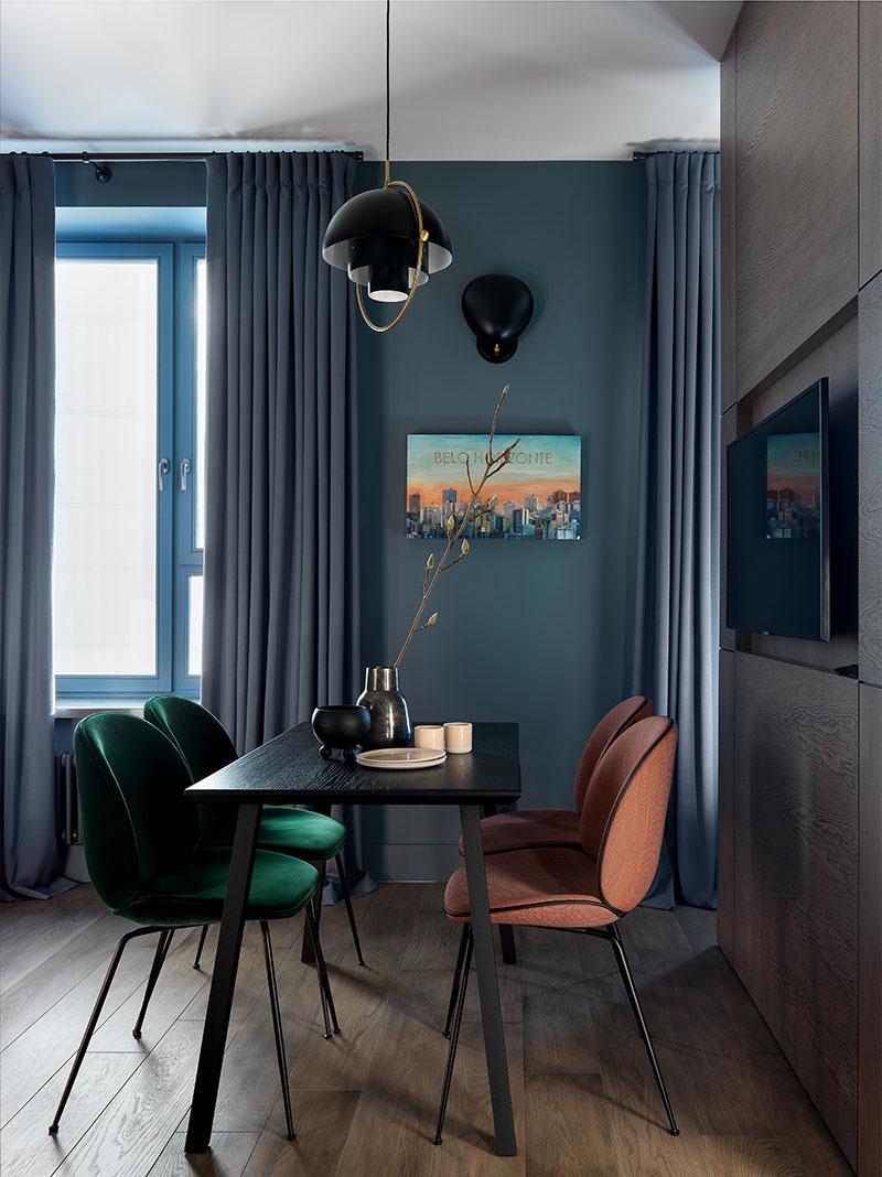 интерьер в однокомнатной квартире 36 кв м