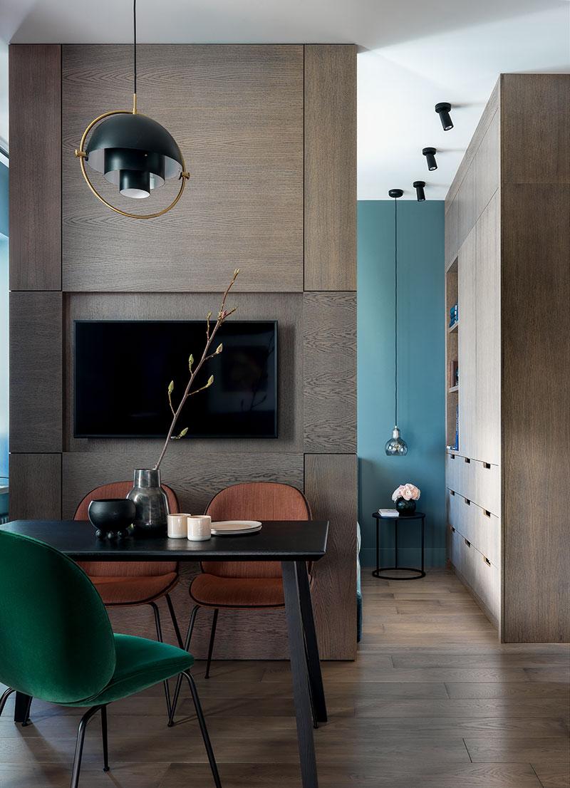 интерьер однокомнатной квартиры 36 кв м фото в современном стиле