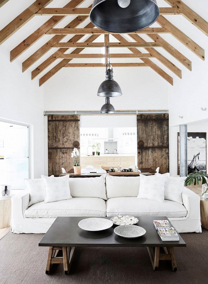 современные белые дома фото