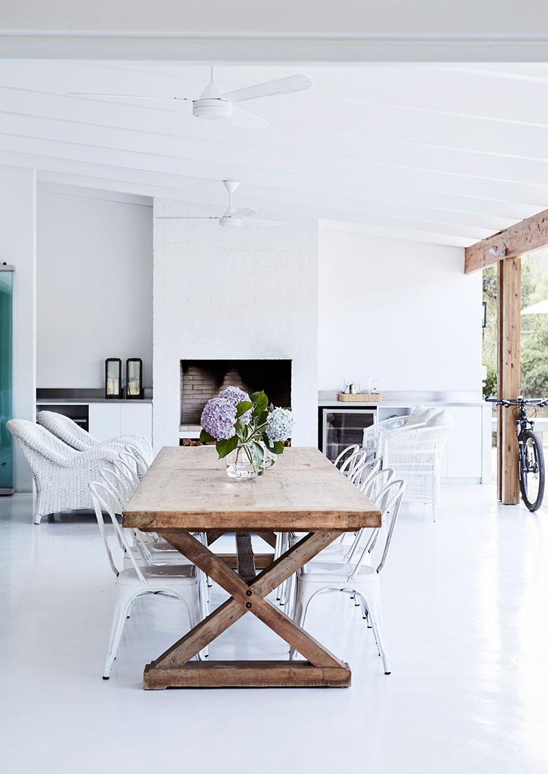 современный белый дом