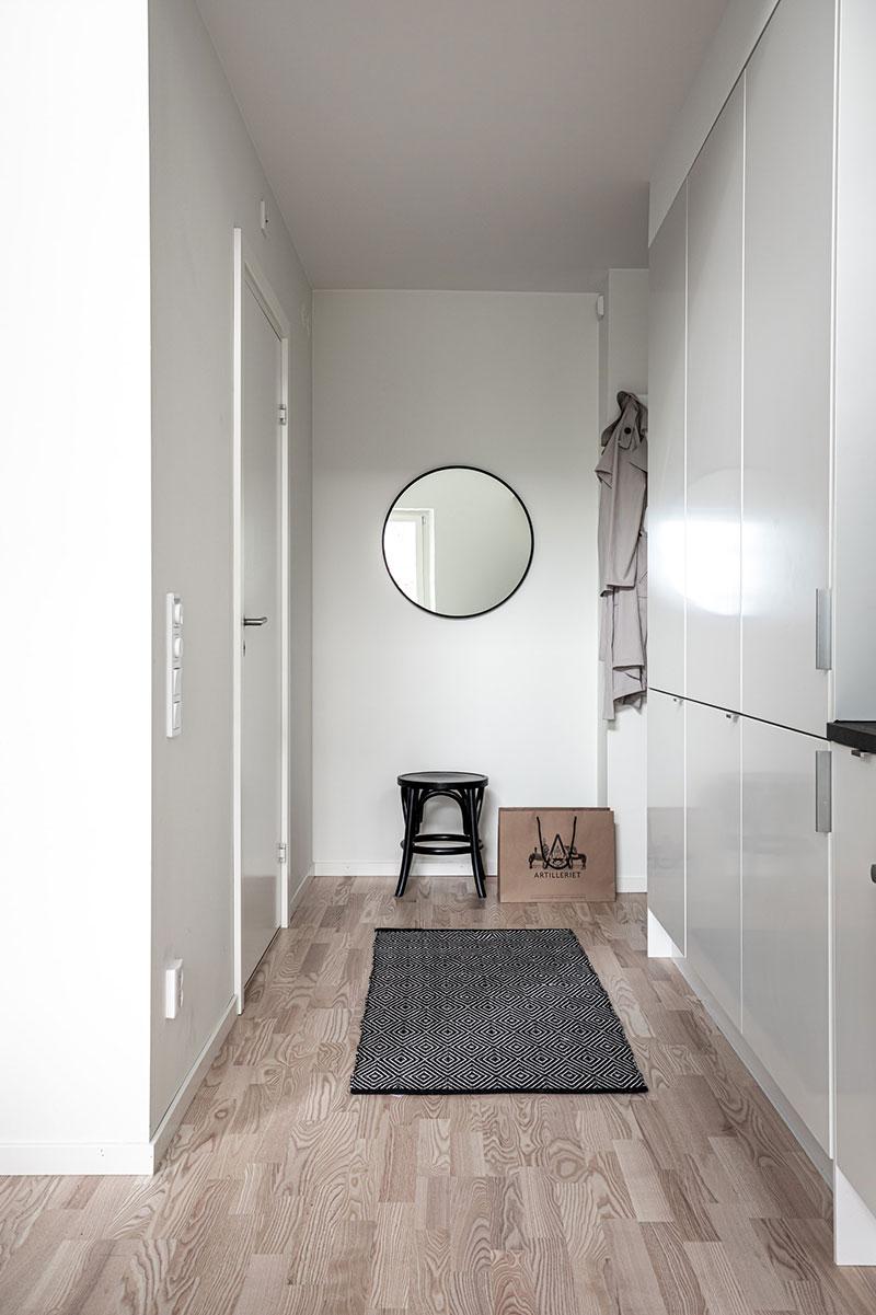 Класс! Небольшая квартира с антресольной гостиной в Гетеборге (34 кв. м)