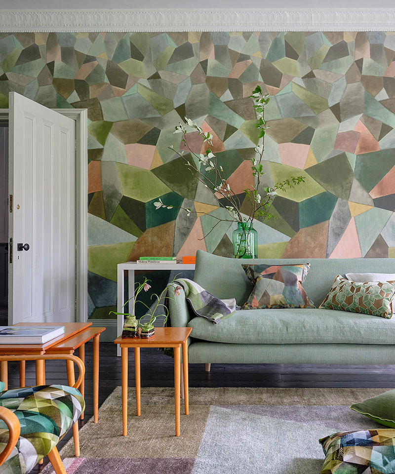 Beautiful New Fl Textiles And Wallpapers By Designers