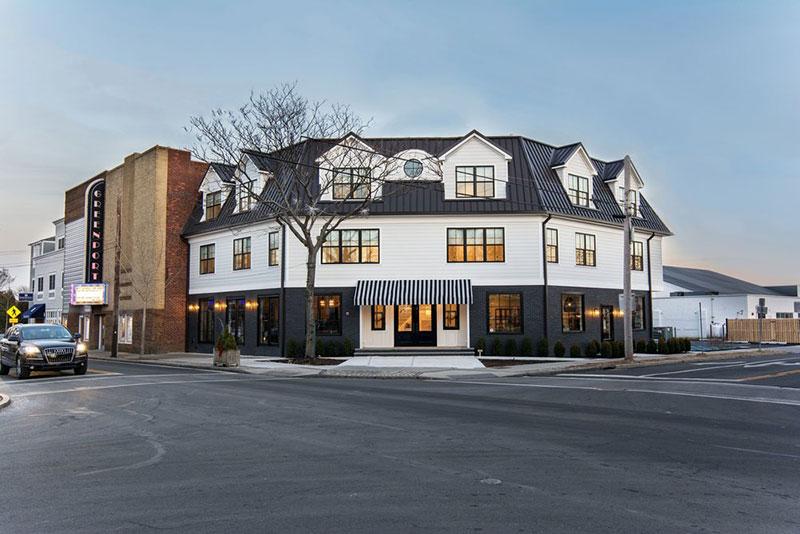 Класс! Чёрно-белая гамма и наследие 19 века: отель The Menhaden на Лонг-Айленде