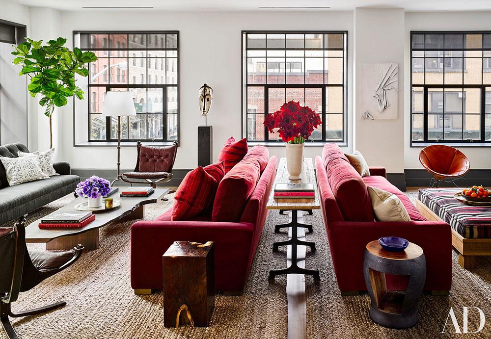 Fascinating Interiors Of New York By Ashe Leandro Foto Idei Dizajn