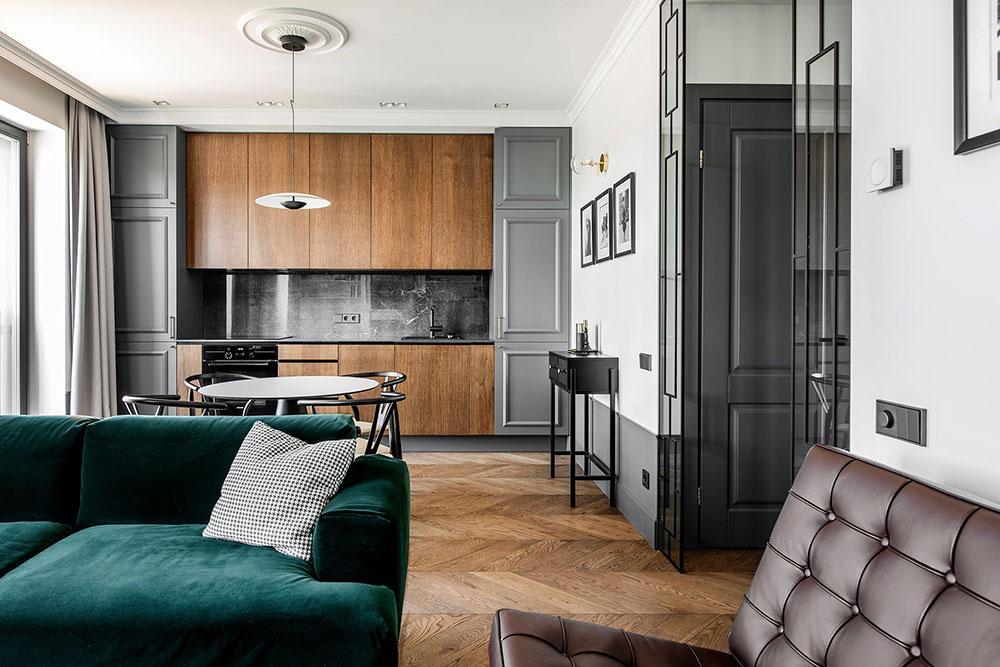 Stylish Apartment In Modern Classic Style In Vilnius Photos Ideas Design