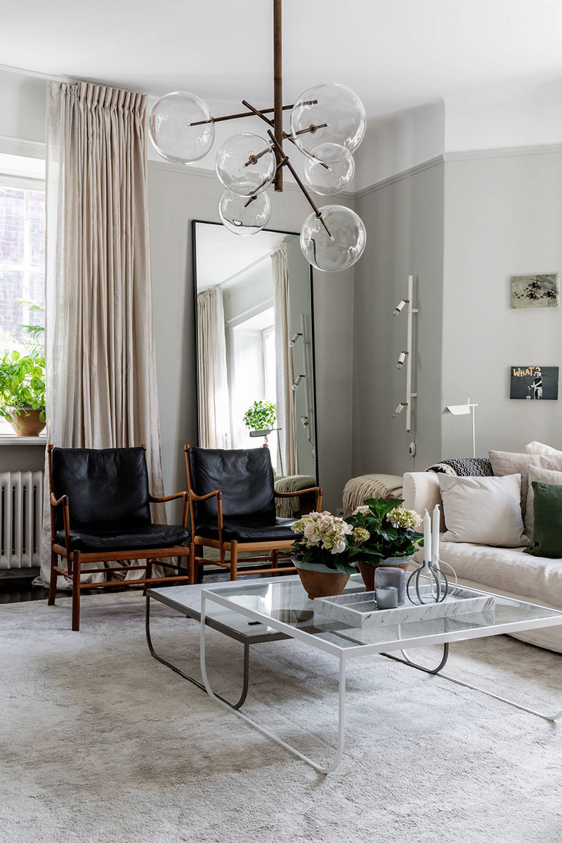 Cozy pastel apartment in beautiful old brick house in ...