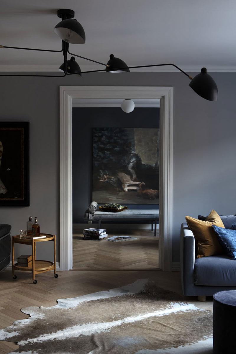 Класс! Великолепие темно-серого интерьера в Норвегии