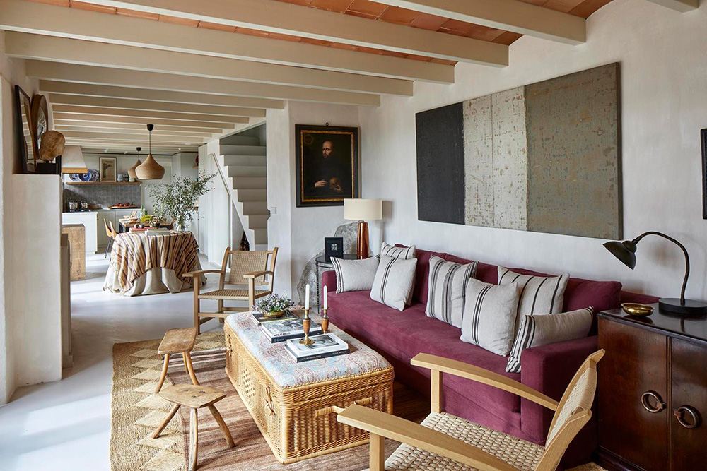 Charming House With Small Pool And Terrace In Spain Foto Idei Dizajn