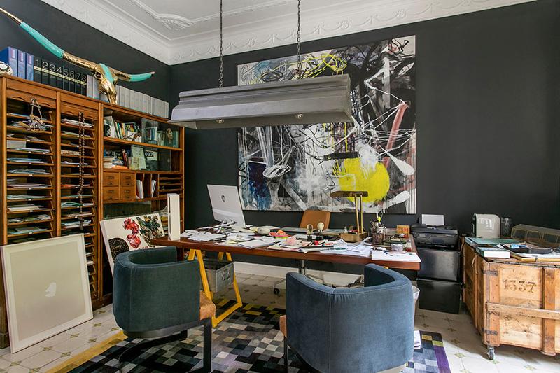 Класс! Эклектичные апартаменты коллекционера предметов искусства в Барселоне