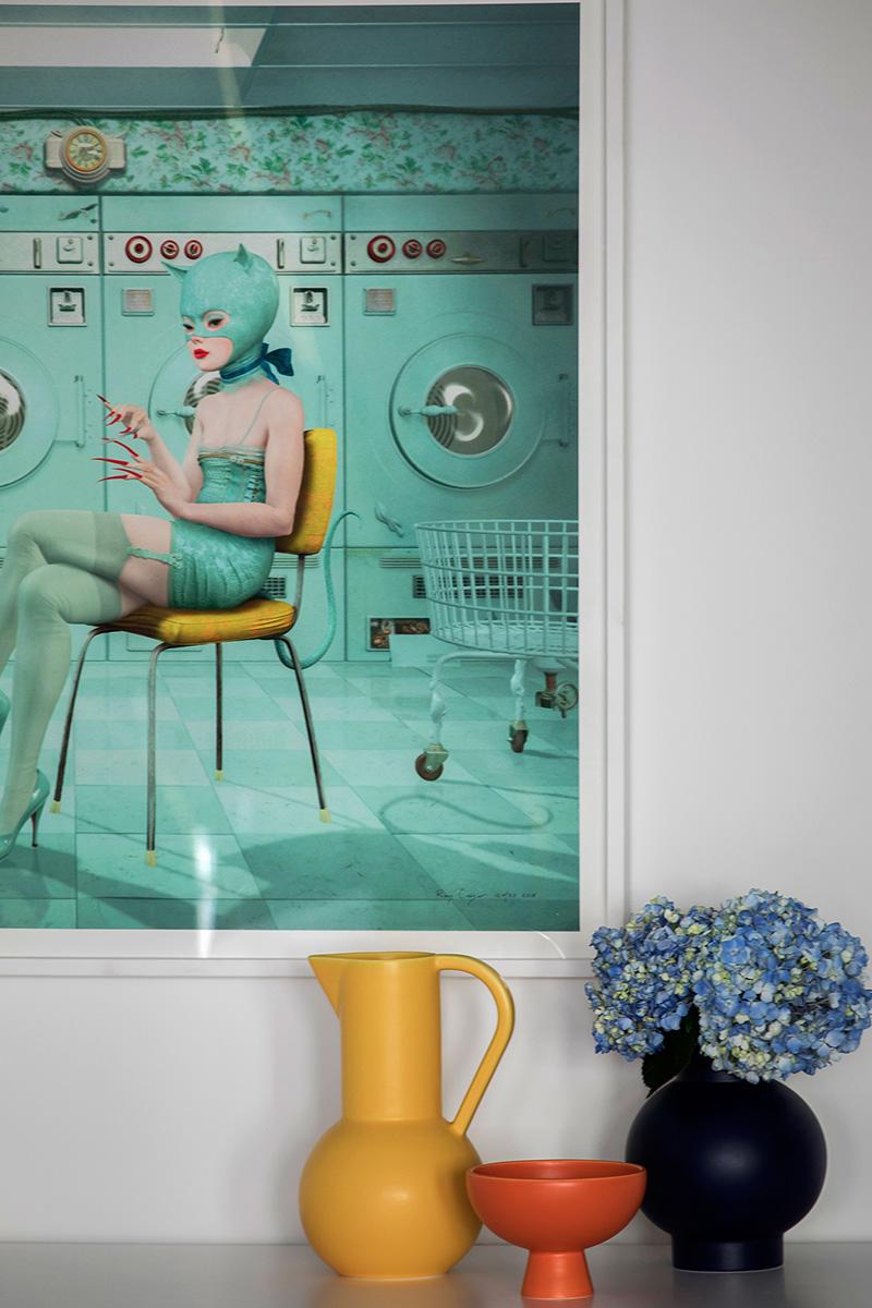 Класс! Просторный лофт с яркой мебелью и интересными деталями на Манхэттене