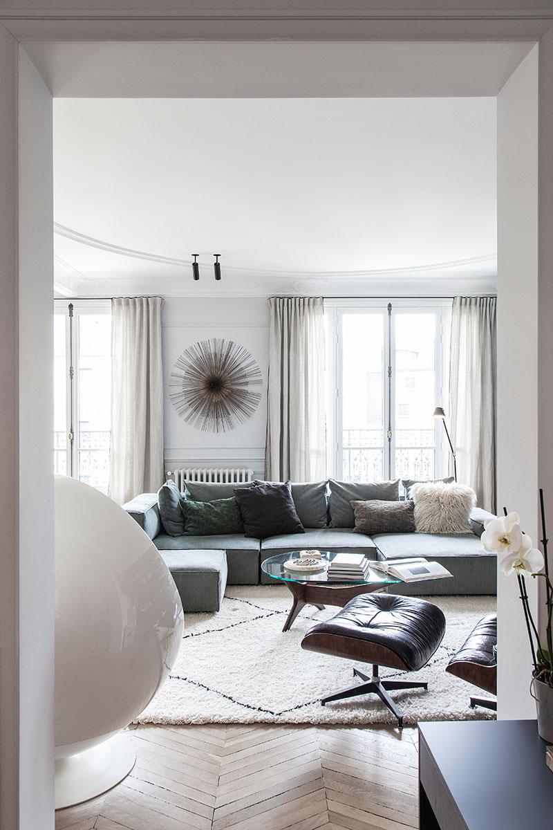 квартира в центре парижа