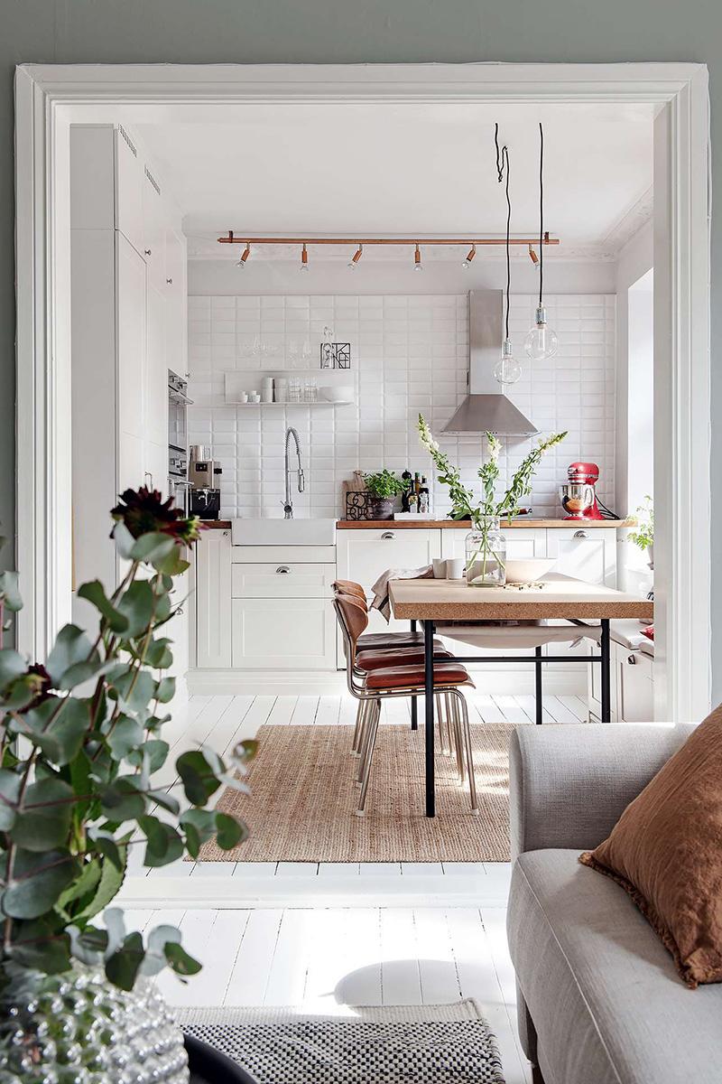 北欧风格的厨房