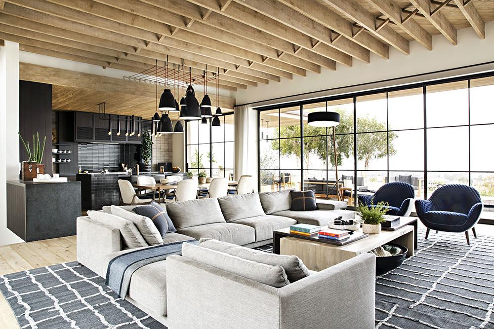Великолепный современный дизайн загородного дома архитектора в Калифорнии