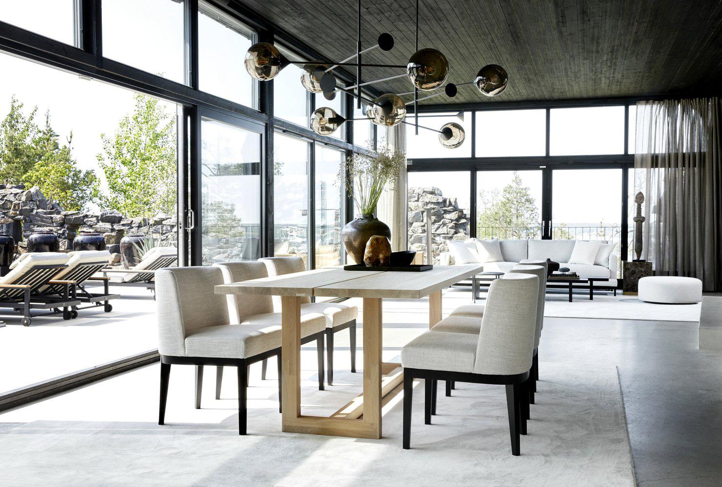 Современная вилла на скале: новый проект норвежских дизайнеров Slettvoll