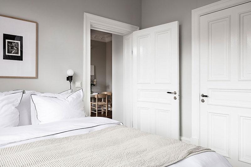 Светлый и мягкий интерьер небольшой двухкомнатной квартиры (40 кв. м)