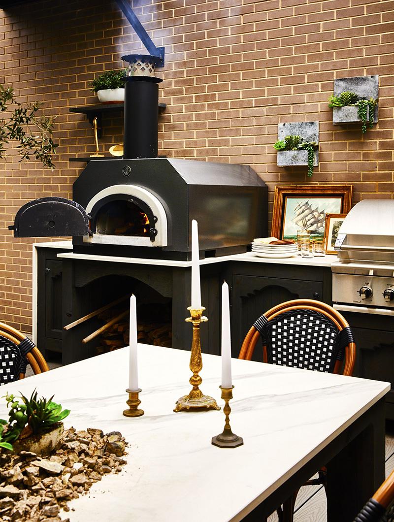 户外厨房烤炉