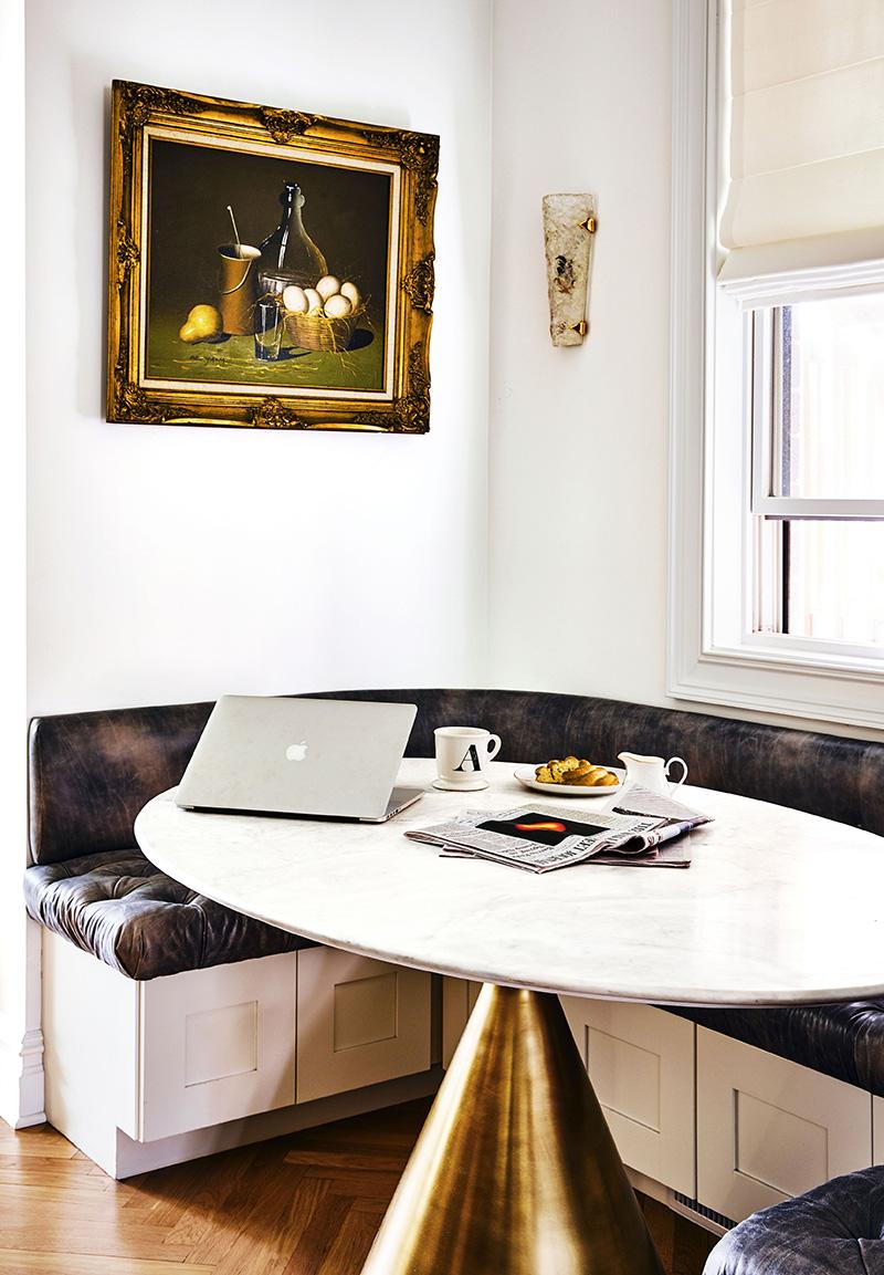 现代风格的早餐台