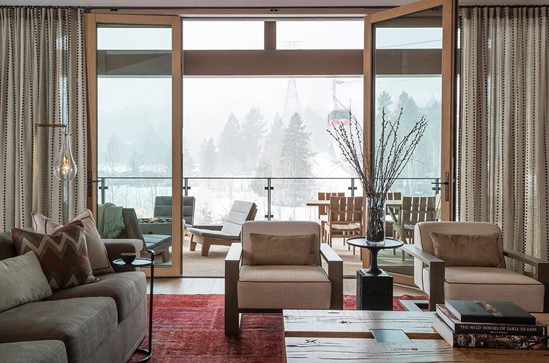 Великолепные апартаменты в горах в США