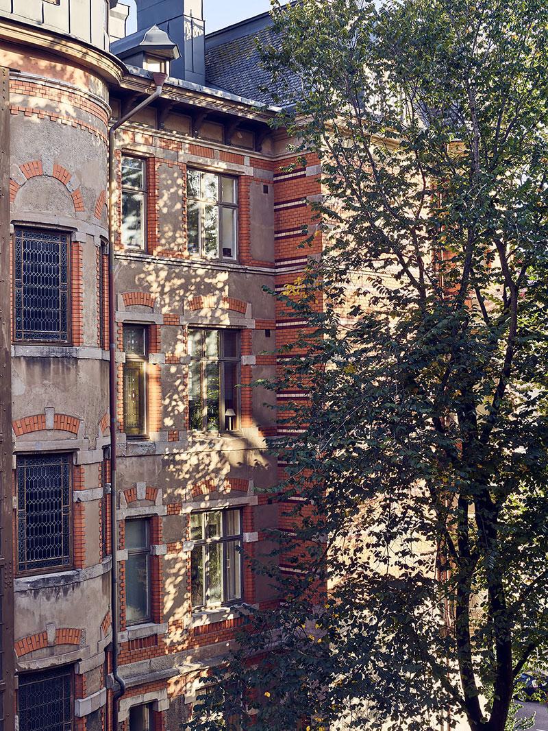 Стильная квартира в сказочном доме в Гетеборге