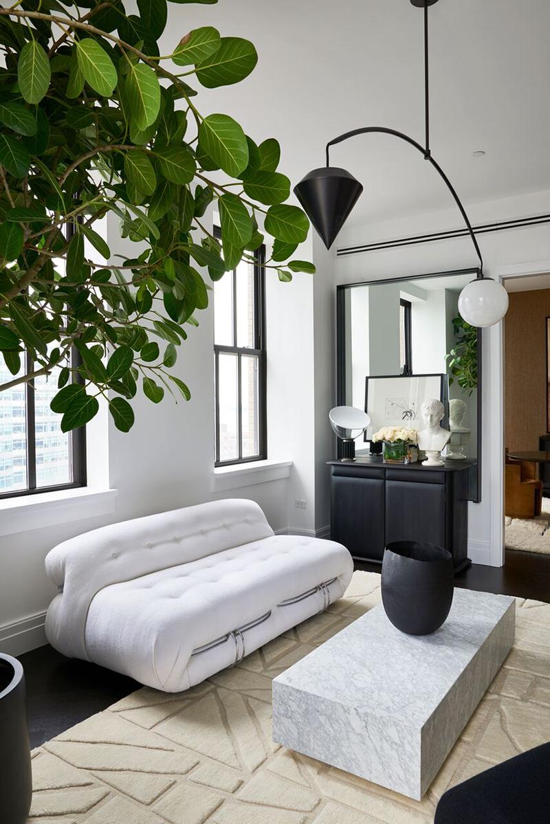 Stylish Apartment With Unique Designer Furniture In New York