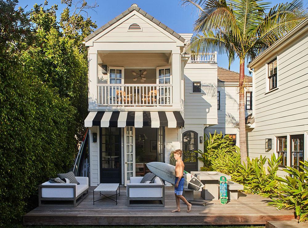 Свой кусочек рая: белоснежный дом рядом с пляжем в Лос-Анджелесе