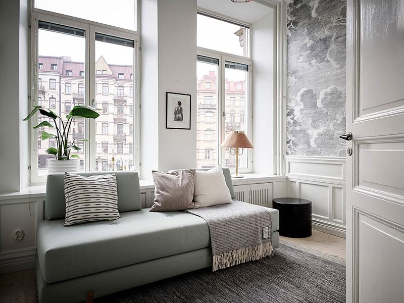 Красивая жизнь в старом доме в Гетеборге (80 кв. м)