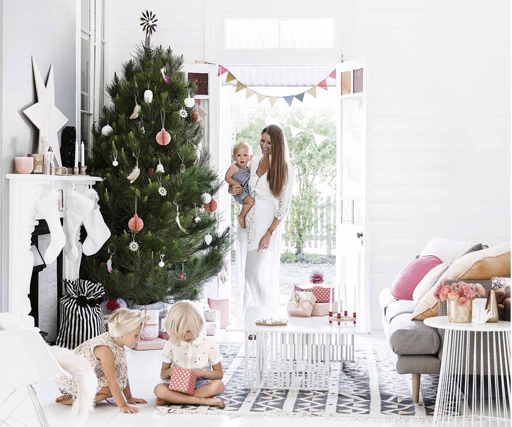 Рождество летом: праздниная атмосфера в коттедже у моря в Австралии