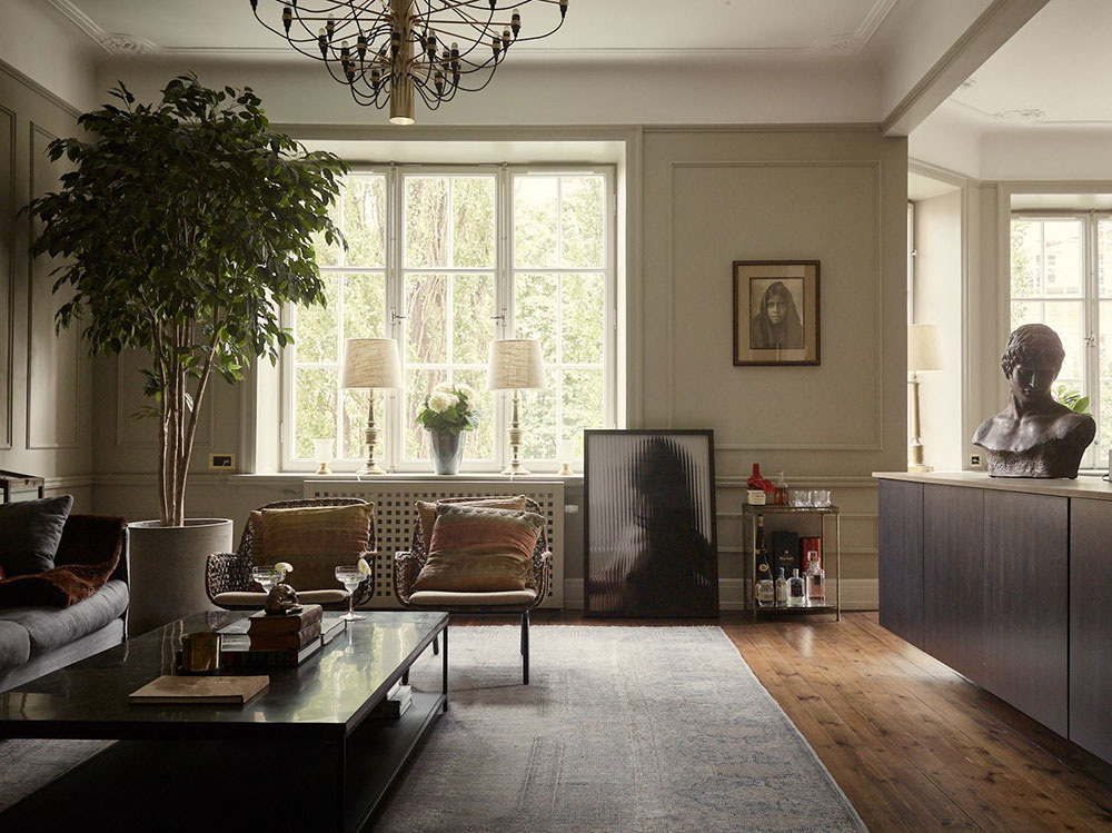 Stockholm Apartment With History And