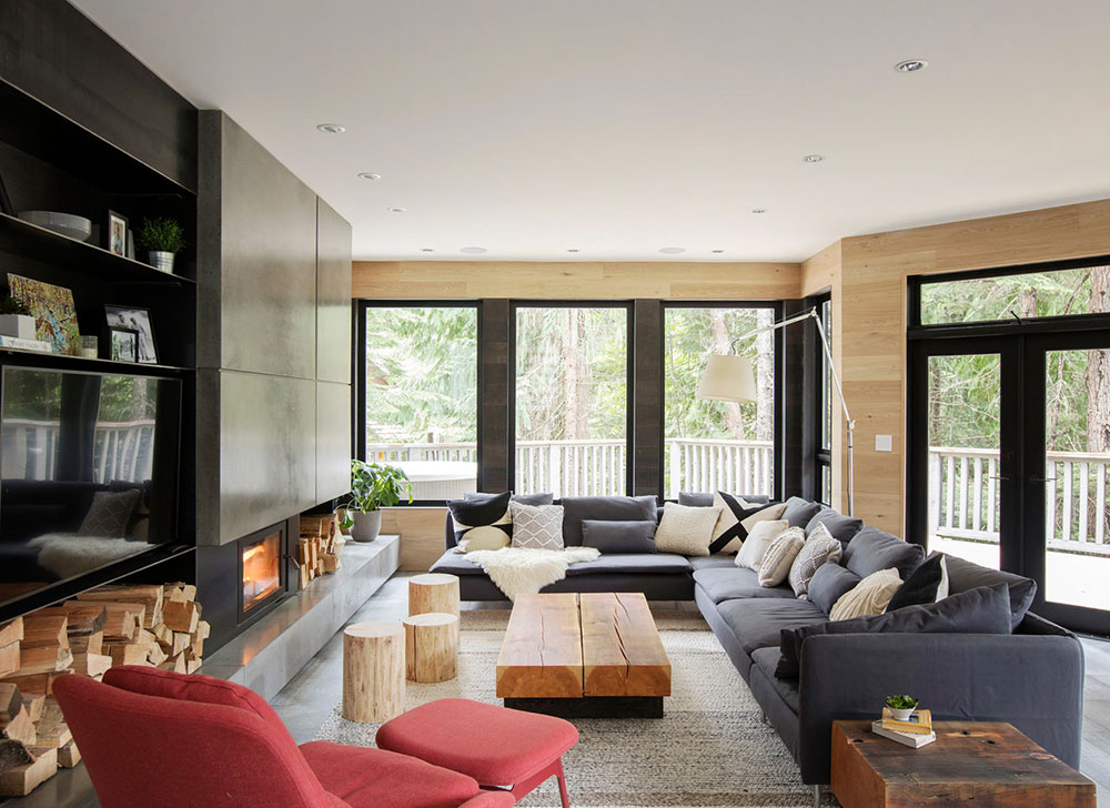 Stylish And Cozy Modern Chalet In Canada Foto Idei Dizajn,Shell And Tube Heat Exchanger Design Calculations