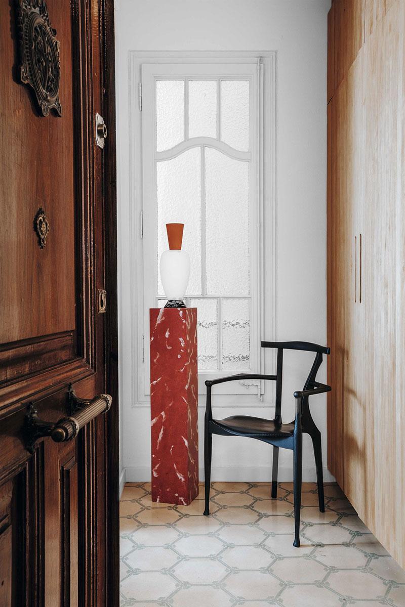 Небольшой богемный оазис для творческой пары в Барселоне
