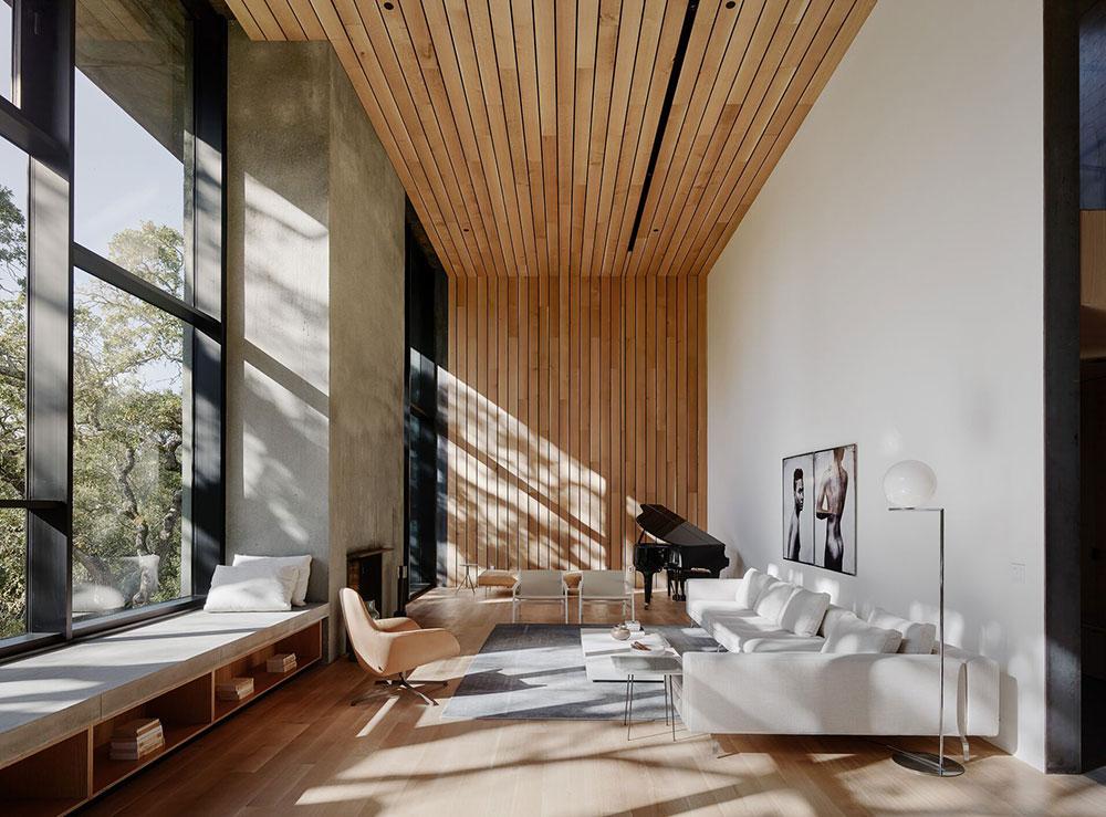 Впечатляющий минималистичный дизайн и энергоэффективный концепт:  современном дом в лесу 〛 ◾ Фото ◾ Идеи◾ Дизайн
