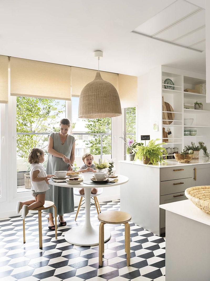 Квартира с террасой и солнечным настроением в Мадриде