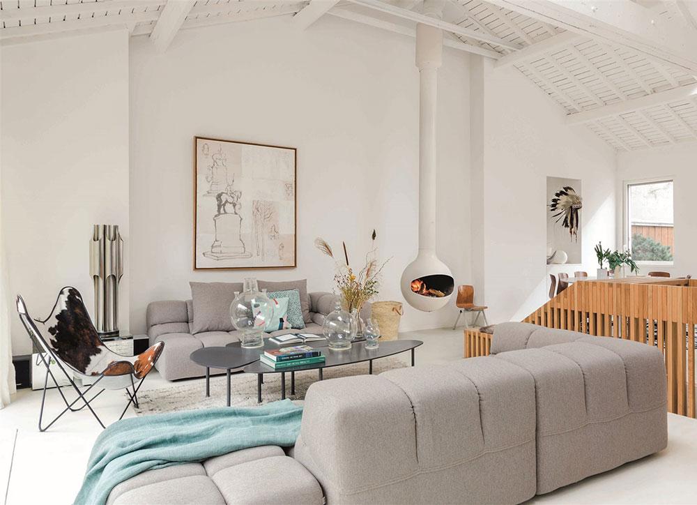 Как в загородном доме: удивительная квартира в Париже