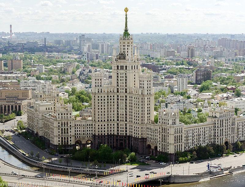фото квартиры московской высотки