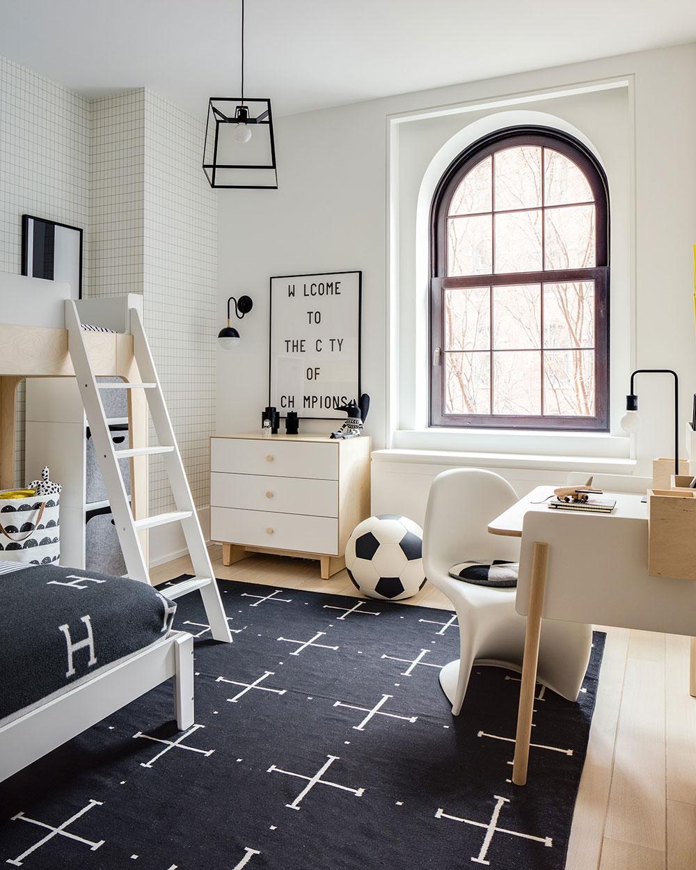 Designing Modern New York Style Kids Room By Sissy Marley Foto Idei Dizajn