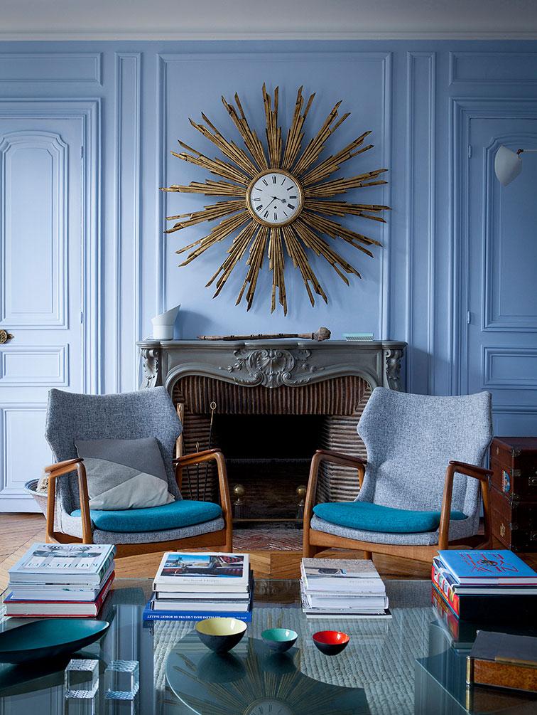 Живые французские интерьеры от фотографа Julie Ansiau
