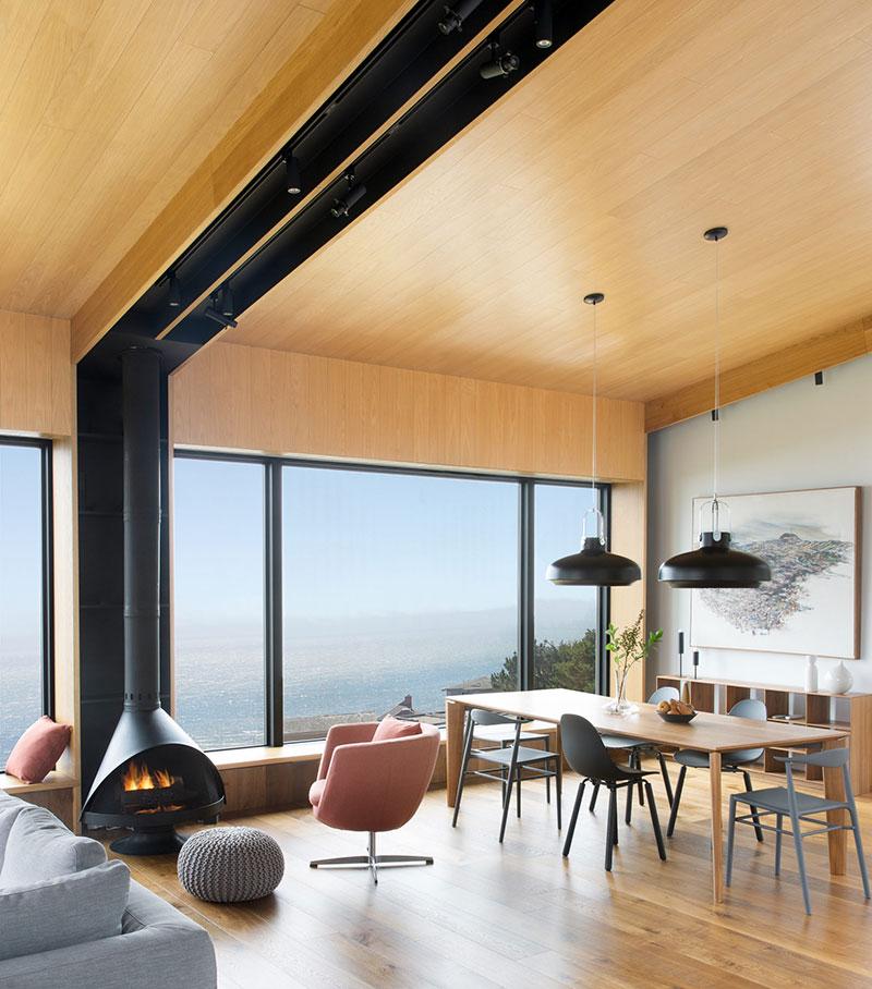 Дом для уикэндов с друзьями на берегу океана в Калифорнии (300 кв.м)