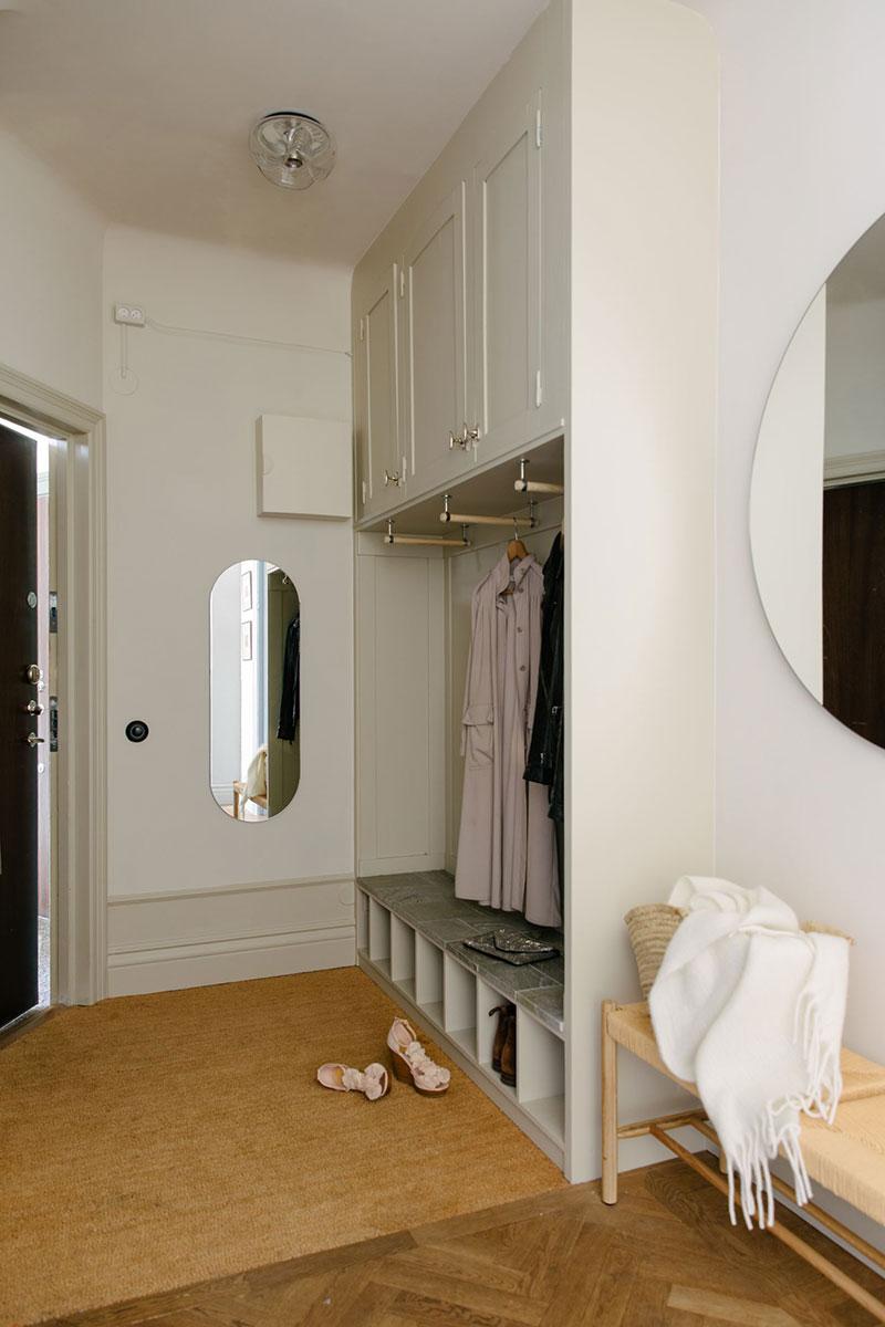 Яркая скандинавская квартира с нотками кантри и классическими деталями