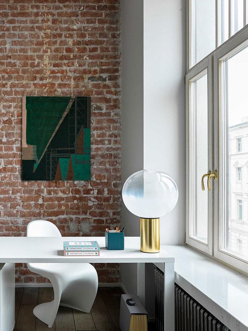 Прекрасная квартира с винтажным декором в бывшем офисе на Патриарших прудах