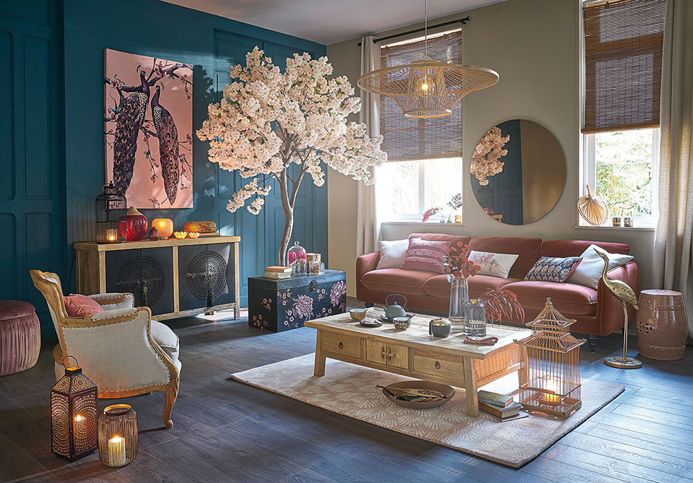 Bright new interiors from the new Maisons du Monde catalog