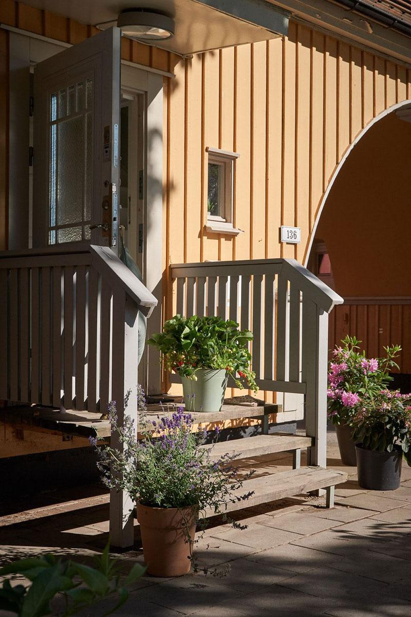 Ещё одна очаровательная скандинавская дача