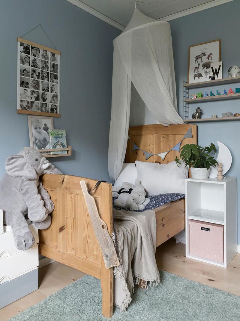 Светлый интерьер дома с пастельными акцентами в Швеции (140 кв.м)